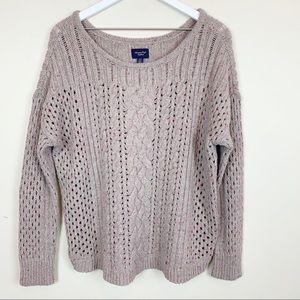 American Eagle | Oversized Confetti Sweater